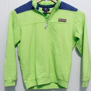 Vineyard Vines Mens Pullover Size Small Lime Green